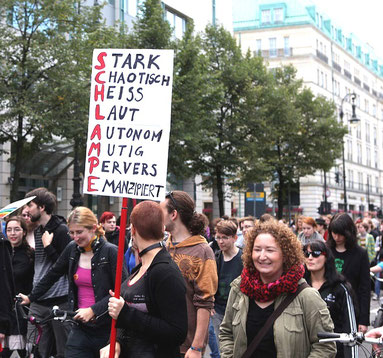 SlutWalk - demo i Berlin