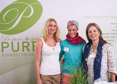 v.l.n.r.: Kirstin Knufmann, Betty Braun, Dr. Christine Volm