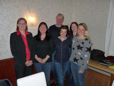 v.l.: Dr. Ursula Fink, Daniela Broocks, Dirk Goeze, Cornelia Hansen, Laura Schiesgeries, Leny Brosy (nicht auf dem Bild: Birte Senftleben)