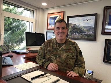 Ramstein Air Base Commander Mark August
