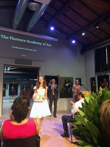 Graduation Ceremony at the Florence Academy of Art