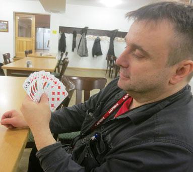 Mario Kossak und sein Grand Ouvert – 264 Punkte wert!