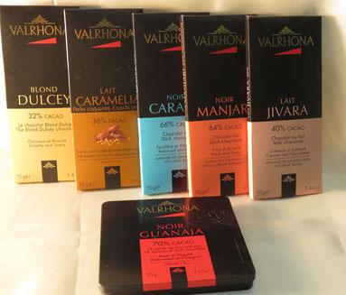 chocolat grand cru Valhrona