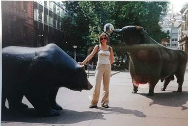 2003: découverte de Francfort comme Fille-Au-Pair