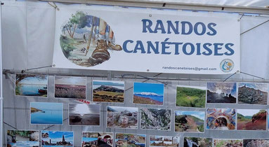 Randos Canétoises sera présente au forum des associations le 9 septembre à Canet en roussillon, esplanade de la mer de 10H à 18H