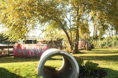 Buiten speel plaats Kinderopvang Klein Kamerik