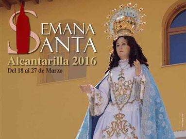 Fiestas en Alcantarilla Semana Santa 2016