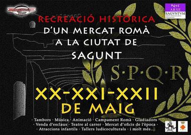 Fiestas en Sagunto Mercado Romano