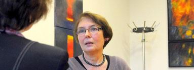 Trauerbegleiterin Rita Osowski hat das Angebot mitinitiiert. (Foto: Peter Sieben / WAZ)