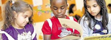 In der Internationalen Kinderbücherei können Kinder den Büchereiführerschein machen. (Foto: WAZ)