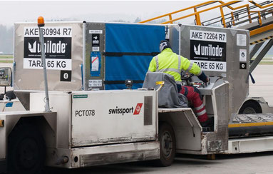 "You'll never hear ""Get lost!"" at Swissport. Image courtesy of Swissport"