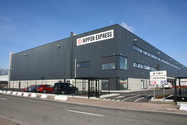 Nippon Express is one of the tenants at BRUcargo  /  source: ms