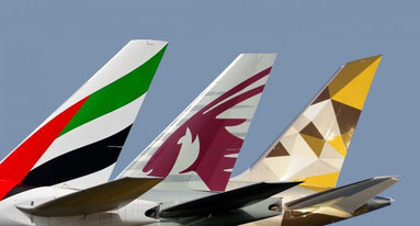 Emirates, Etihad follow Qatar solution to end subsidy row with U.S. Big Three