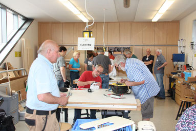 Foto: Repair-Cafe in Neumarkt