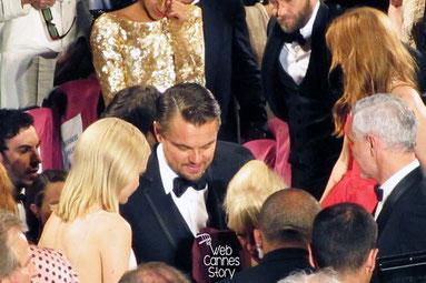 """Leonardo Di Caprio lors de la projection de """"GATSBY LE MAGNIFIQUE"""" de Baz LUHRMANN - Festival de Cannes 2013 - Photo © Raymond HAIK"""