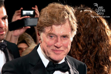 "Robert REDFORD à la projection de ""ALL IS LOST "" de J.C. CHANDOR - Festival de Cannes 2013 - Photo © Anik COUBLE"