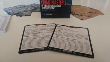 Rezension zum Krimi-Rollenspiel Crime Master 2