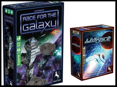 Zweite Auflage von Race for the Galaxy bei Pegasus Spiele