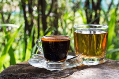Kaffee und Tee bei Gicht