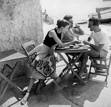 ꧁ ©Regina Regland, Ischia, 1953 ꧂