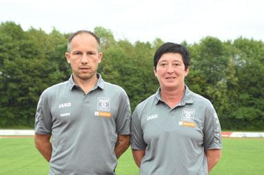 das Trainerteam: Michael Kölbl und Sandra Klause