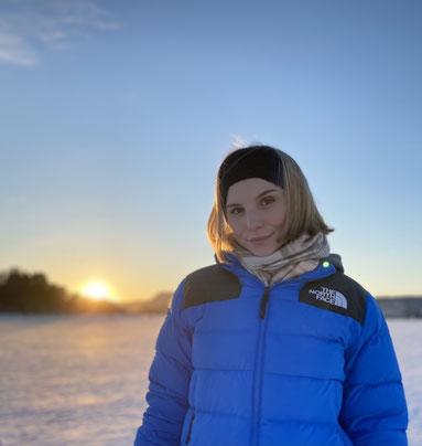 Franka berichtet über ihre Zeit in Norwegen