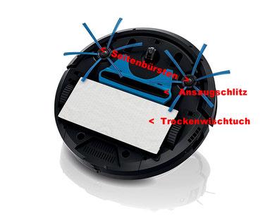 Fc8820/01 Robotersauger oder Saugrobotervon Unten