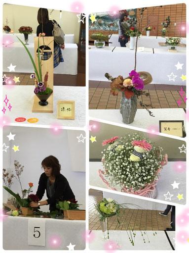 V花キューピット加盟店による日本一のフラワーデザイナーを決める大会です。 北陸地区代表の3名は、1次は持込の花束、2次ではファイナリスト6名によるサプライズ方式の花束とアレンジの選考で決められます。 注)サプライズ方式とは、出場者は本選スタート直前までテーマ、花材を知らされず、制限時間内にデザイン、製作、後始末まで行わなければならない、ちょっと心臓に悪いような競技の方式です(^_^;)