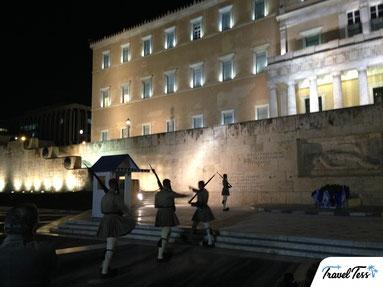 Wisseling van de Wacht Athene