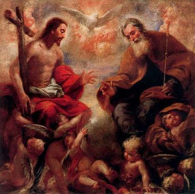 フランチェスコ・カイロ「聖三位一体」