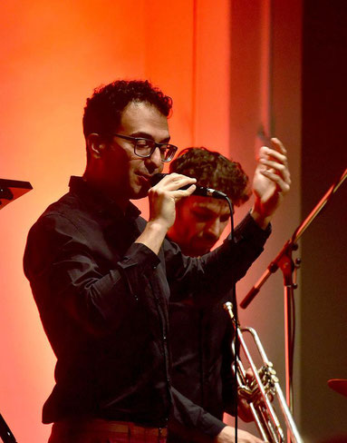 Rabih Lahoud lud zu einer jazzigen Reise ein. FOTO: Andreas Probst