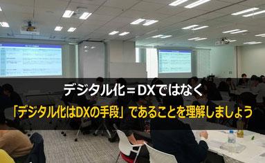 DX(デジタルトランスフォーメーション)の研修では、DXの本質と全体像を理解することが重要です