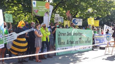 Presseaktion Green Deal (Foto: U. Dopheide)
