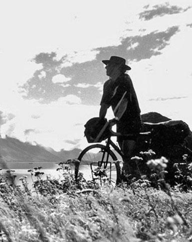 Claus Unterbuchberger im australischen Outback - am Ayers Rock