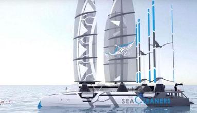 Manta - Sea Cleaner Schiff