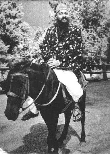 Osho nos anos setenta, na Índia