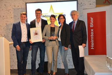 Preisverleihung Heimtex Star 2019 Fachhändler des Jahres