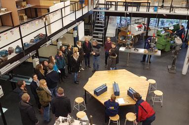 Die öffentliche Schule in Oosterwolde ist bestens ausgestattet - etwa im berufspraktischen Bereich wie hier. Bilder: Ulrichs