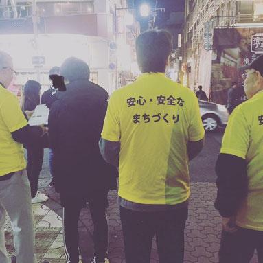 浅野まさきは岐阜駅前玉宮居酒屋エリアをパトロール