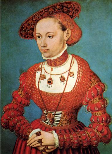 LUCAS CRANACH JR 1543