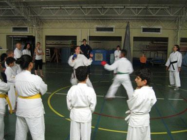 Dojo Budo Gent 2011 een paar leerlingen