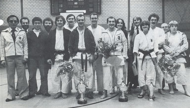Sensei Martine in 1979 in nationale ploeg