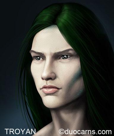 Troyan - Auraner und Sohn einer Sirene