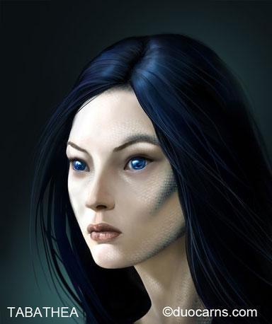 Tabathea - Auranerin und Tochter einer Sirene