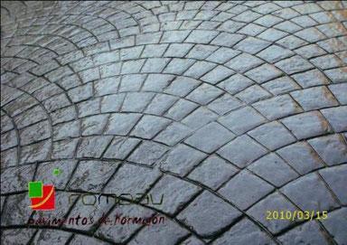 Pavimentos de hormigon impreso y pulido Segovia