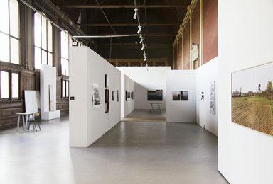 """Claire Tenu, exposition """"TAMIS LYRIQUE"""" aux Beaux-arts de Paris, 2016"""