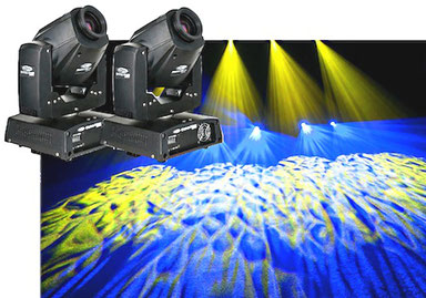 2 mal Moving Head LED 60 Watt Set für 99€