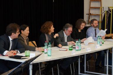 Die Jury des 7. EOP 2013