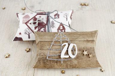 Pillowbox, Adventskalender, Weihnachten, Geschenk