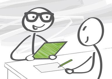 Mit der individuellen Bewerbungsberatung zum neuen Job - mit einem unserer 200 Experten bundesweit
